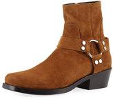 Balenciaga Men's Suede Harness Boot