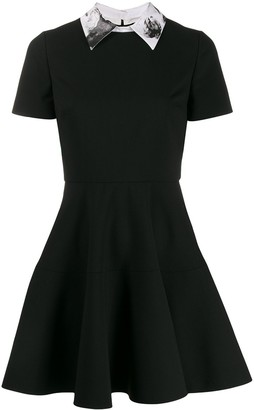 Valentino x Undercover Graphic Lovers pleated dress