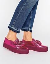 Asos DARA Bow Flatform Sneakers