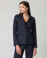 Le Château Viscose Blend Notch Collar Blazer