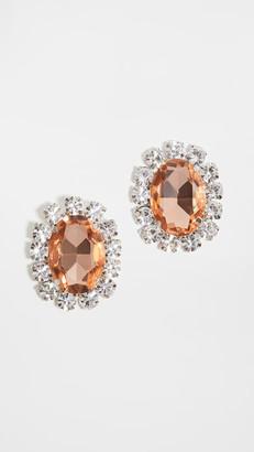 Area Costume Gemstone Earrings