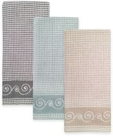 Lenox French Perle Embroidered Kitchen Towel