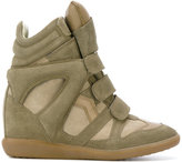 Etoile Isabel Marant Isabel Marant - Étoile Bekett sneakers - women - Leather/Calf Suede/rubber - 37