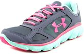 Under Armour UA GGS Assert V Youth US 7 Gray Sneakers