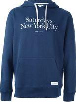 Saturdays Surf NYC 'Ditch Miller' hoodie