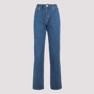 Ganni Basic High-Waisted Jeans