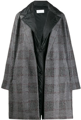 Fabiana Filippi Oversized Checked Coat