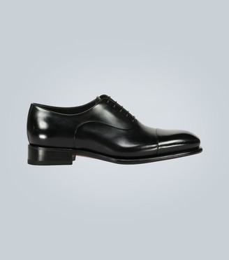 Santoni Leather Oxford shoe