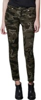 LOVEBEAUTY Women's Fashion Camouflage Blend Stretch Skinny Leg Pants