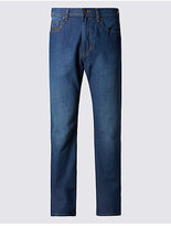 M&S Collection Regular Fit Stretch Jeans