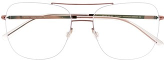 Mykita Ryoko aviator-frame glasses