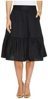 Splendid Poplin Knee Length Skirt Women's Skirt