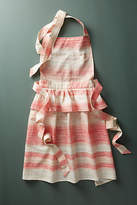 Anthropologie Skirted Peplum Apron