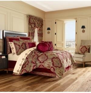 J Queen New York J Queen Maribella Crimson Queen Comforter Set Bedding