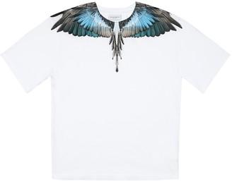 Marcelo Burlon County of Milan Kids Of Milan Printed cotton T-shirt