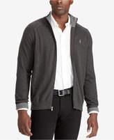 Polo Ralph Lauren Men's Big & Tall Full-Zip Sweater