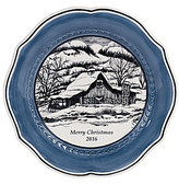 Fitz & Floyd Bristol Holiday 2016 Collector's Plate