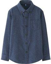 Uniqlo Boys Flannel Long Sleeve Shirt