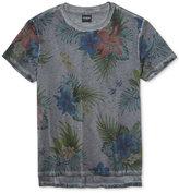 GUESS Men's Tropical Graphic-Print Cotton T-Shirt