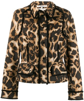 Gianfranco Ferre Pre-Owned 1990s leopard print jacket