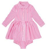 Polo Ralph Lauren Cotton Stripe Shirt Dress