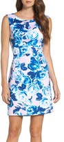 Betsey Johnson Women's Scuba Sheath Dress