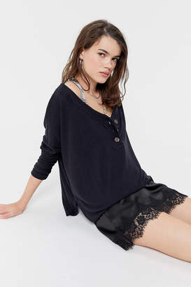 Out From Under Blaine Oversized Henley Top