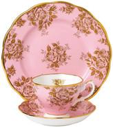 Royal Albert 100 Years Tableware Set - 3 Piece - 1960 Golden Roses