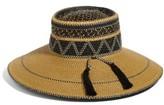 Eric Javits Women's Palermo Squishee Wide Brim Hat - Beige