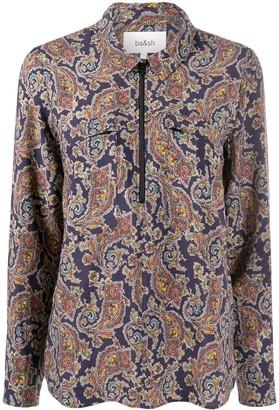 BA&SH Pietro paisley shirt