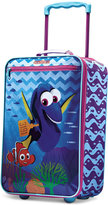 """Disney Finding Dory 18"""" Rolling Suitcase by American Tourister"""