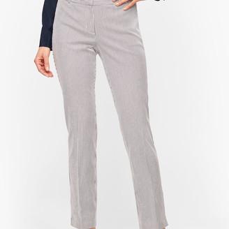 Talbots Hampshire Ankle Pants - Teatime Stripe
