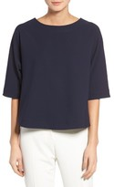 Gibson Petite Women's Tie Back Top