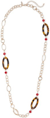 New York & Co. Goldtone Open-Link Necklace