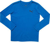 Puma Poly Cotton Long Sleeve T-Shirt (S-XL)