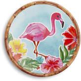 Sur La Table Flamingo Melamine Salad Plate