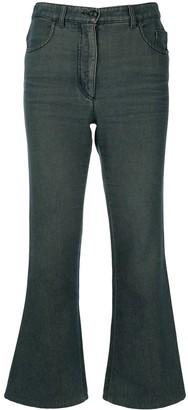 Chanel Pre Owned CC logos long denim pants