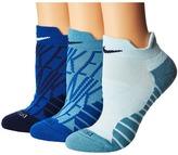Nike Dry Performance Cushion Low GFX Training Socks 3-Pair Pack Women's Low Cut Socks Shoes