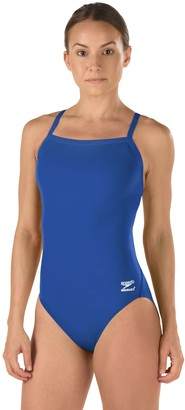 Speedo Women's Race Endurance+ Polyester Flyback Training Swimsuit