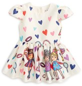 Halabaloo Infant Girl's Fashion Print Dress
