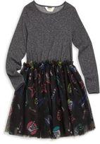 Eleven Paris Little Girl's & Girl's Ramones Fit-&-Flare Dress