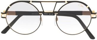 Cazal Round Aviator Sunglasses