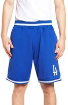 Mitchell & Ness Men's Playoff Win Los Angeles Dodgers Mesh Warm-Up Shorts