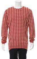 Bottega Veneta Patterned Crew Neck Sweater w/ Tags