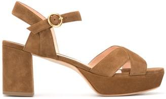 Rupert Sanderson Deidre 80mm sandals