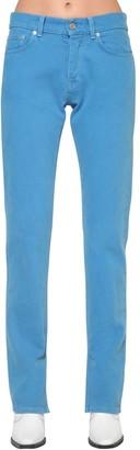 Ganni Sheldon Slim Fit Cotton Denim Jeans