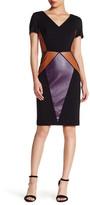 NUE by Shani Multi Panel Knit Dress