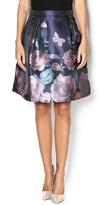 Glamorous Navy Floral Skirt
