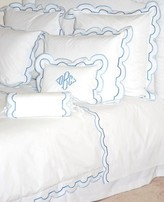 The Well Appointed House Sorento Scalloped Bedding Collection
