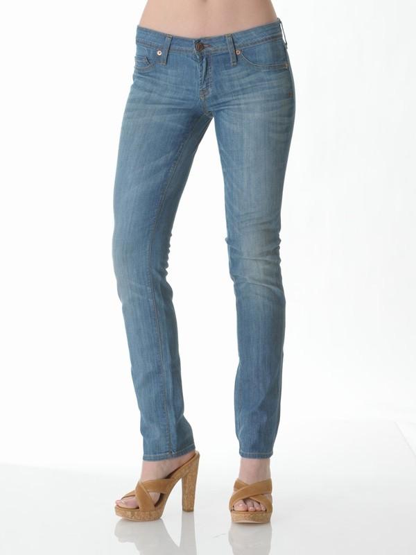 Genetic Denim Recessive Cigarette Jean in Magnesium Light